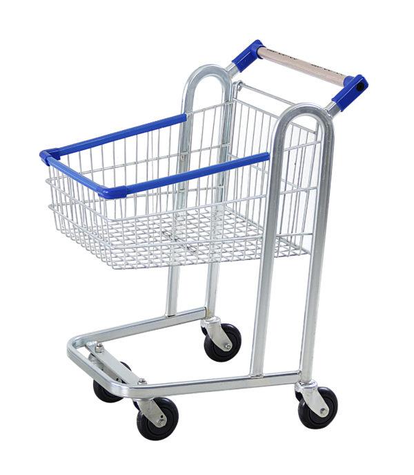 Carrinho simples para supermercado 45 litros