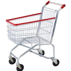 Carrinho simples para supermercado 90 litros